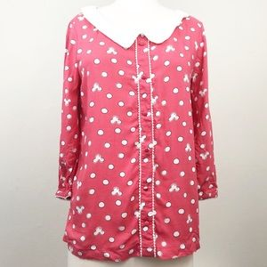 Disney Pink Mickey Mouse Top Size XS